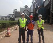 拜访圣戈班广汉陶粒:3年间实现维护成本每吨下降60%