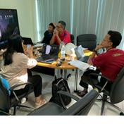 """喜科客户服务团队拜访泰国""""一带一路""""项目客户"""