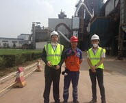 Visit to Saint-Gobain Proppants in Guanghan: 60% maintenance cost reduction per ton in 3 years!