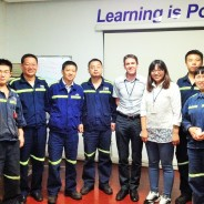 Siveco support team visits customers all over China