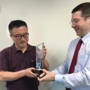"""Essilor Shanghai receives """"Ten Years Achievement in Maintenance 4.0″ award"""
