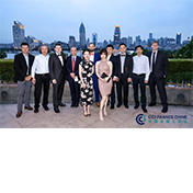 Gathering at the French Gala Shanghai 2021 with Siveco China guests